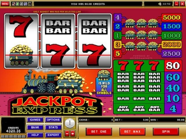 The Superfast Jackpot Express